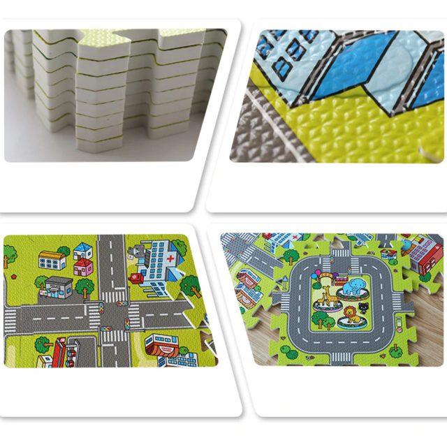 Puzzle Playmat for Kids