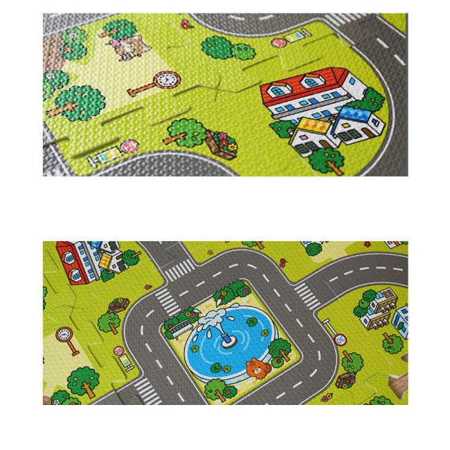 Puzzle Playmat for Kids